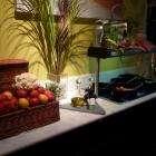 Овощи свежие, бобовые тоже в свежем виде.