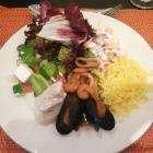 Ужин в отеле Холидей Инн во время экскурсии в Абу-Даби