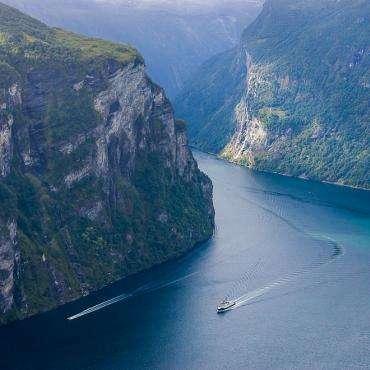 Норвегия, Фьерды